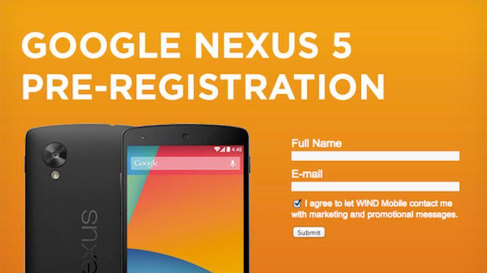 En stor del av lekkasjene i forkant av Nexus 5-lanseringen har stammet fra operatører. Så også denne.