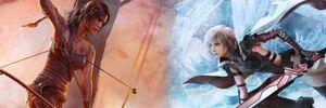 Hva om Tomb Raider-gjengen fikk bryne seg på Final Fantasy?