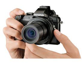 Olympus Stylus 1 er et lite og lett kamera.