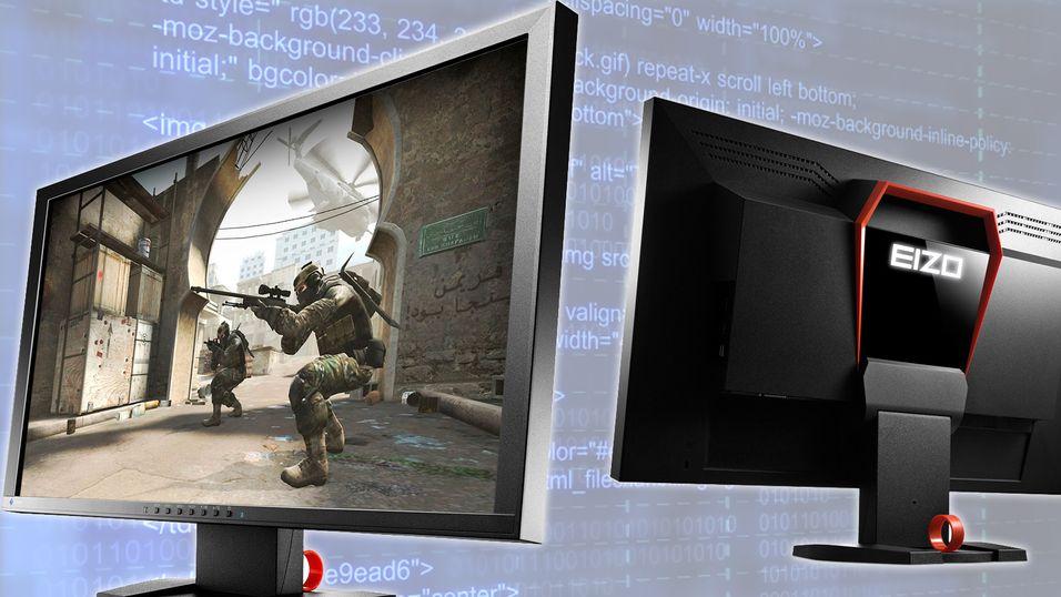 – Her er verdens første spillskjerm med 240 Hz