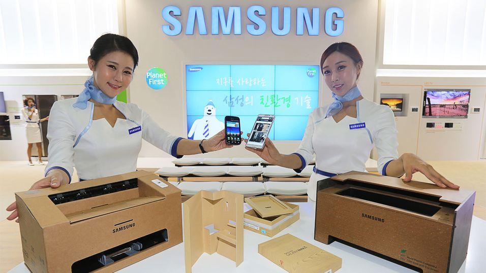 Samsung selger én million om dagen