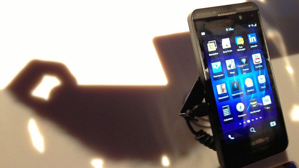 Facebook kan være interessert i BlackBerry