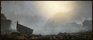 Hva skjuler seg under bølgene? (bilde: Red Thread Games).
