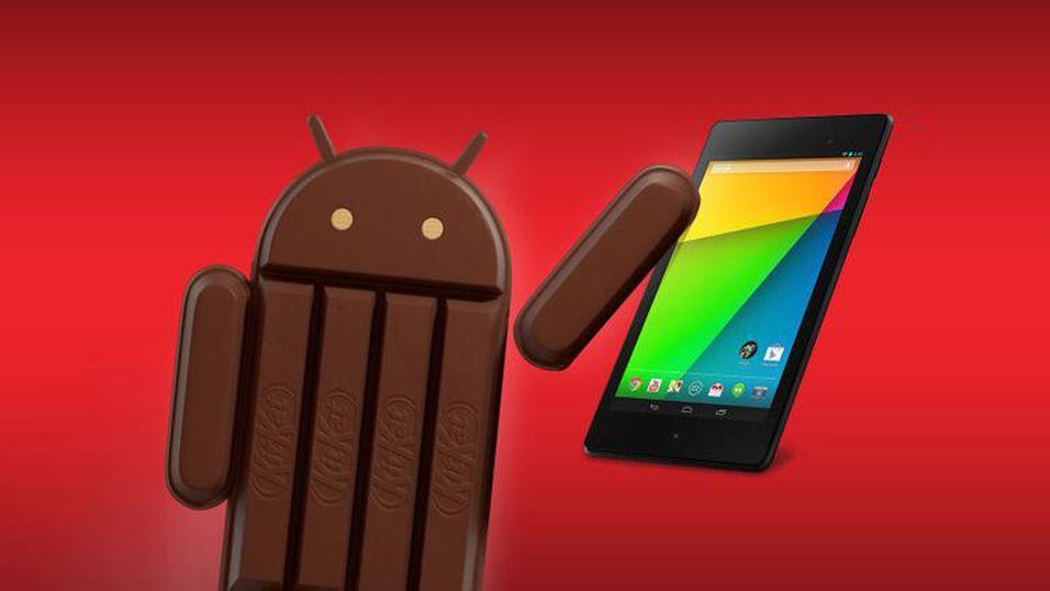 Android KitKat-lekkasje lover store forbedringer