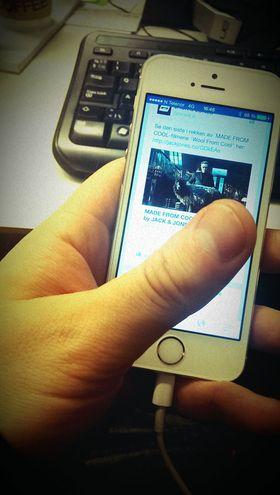 Norsk Facebook-annonse på mobil.