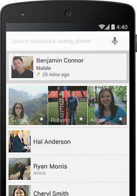Ringeappen i Android er oppdatert. Den kan nå organisere kontaktene du bruker oftest øverst.