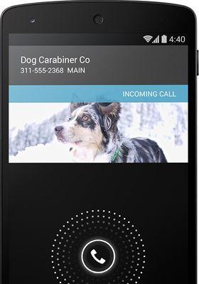 Android 4.4 kan søke opp nummer du ikke har i kontaktlisten, slik at du likevel ser hvem som ringer.