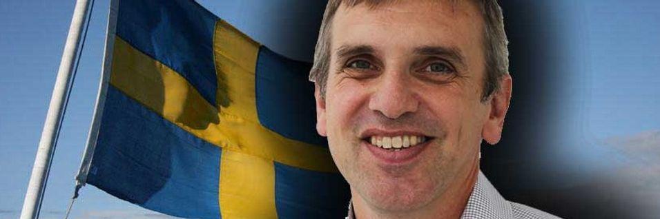 Administrerende direktør Tommy Ljunggren i Teliasonera Mobile Networks ønsker å få 700 MHz-båndet fra det digitale bakkenettet.