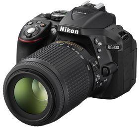 Nikon D5300 er sosial, med GPS og Wi-Fi innebygd.