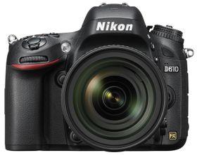 Nikon D610 er Nikons inngangskamera til fullformatverdenen.