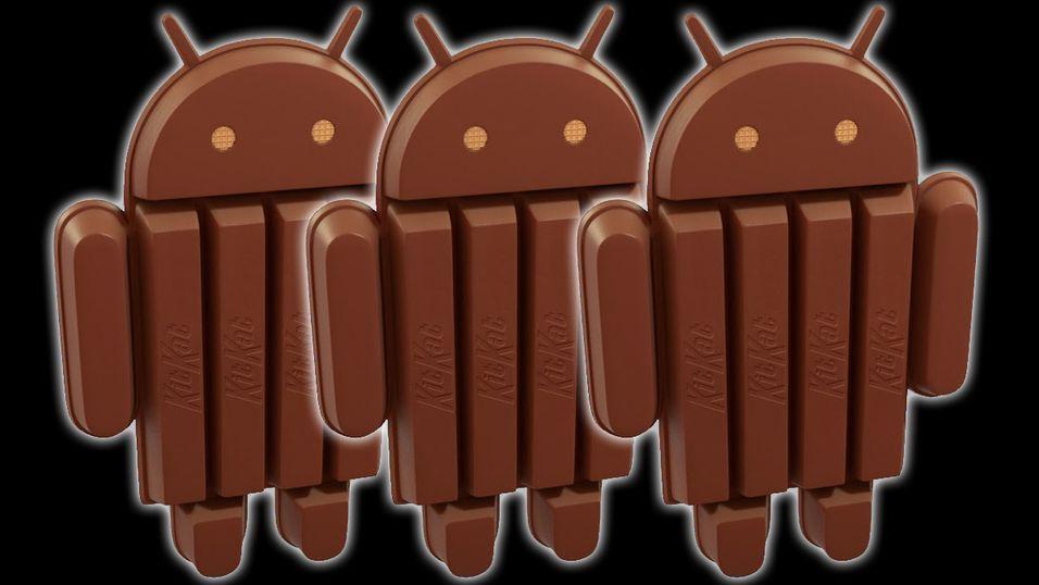 Android 4.4 KitKat er her