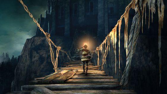 Dark Souls II har ei djup historie, men det er aspekt ved den som spelaren må finne på eiga hand, mener Ugland.
