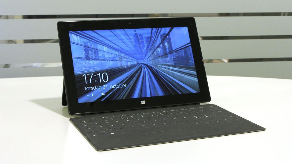 Surface Pro 2 er en av modellene som er rammet.