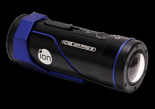 iONs Air Pro 3 er sylinderformet og ligner ganske mye på en lommelykt.