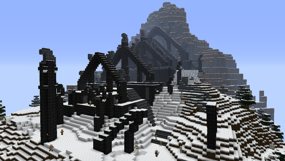 The Elder Scrolls V: Skyrim inntar Minecraft.