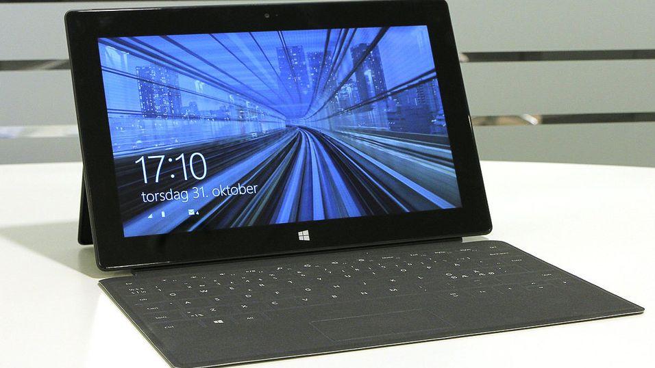 Nå får du mye bedre batteritid på Surface Pro 2
