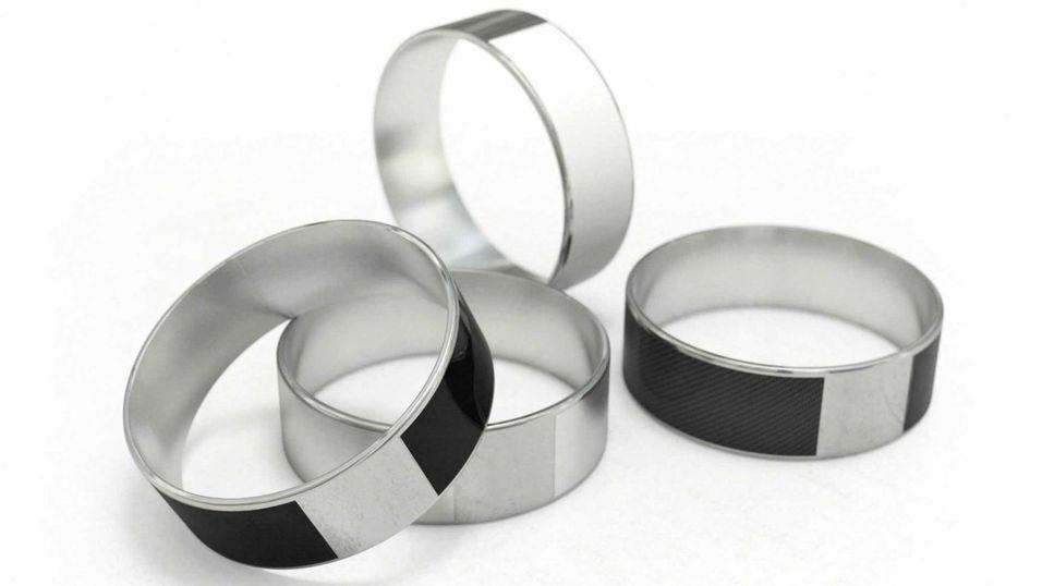 DAGENS DINGS: Denne NFC-ringen låser opp mobilen  og  døra