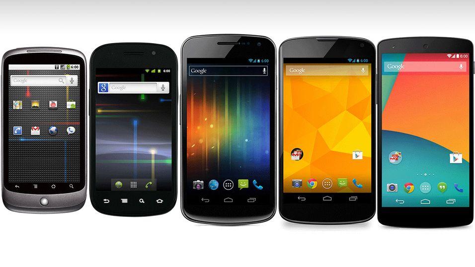 Se hele historien til Google Nexus