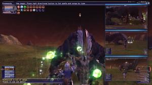 Med Final Fantasy XI kan man se hva medspillerne gjør samtidig.