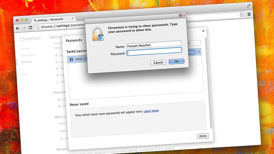 Google skjuler endelig passordene dine