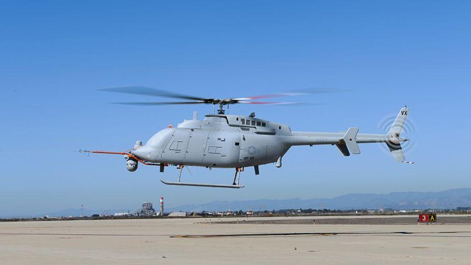 Ser du noe rart ved dette helikopteret?