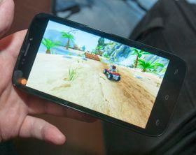 De største telefonene i Trooper-serien går ikke av veien for å kjøre relativt heftige 3D-spill.