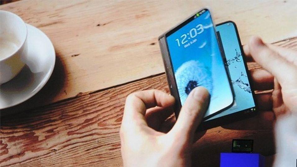 Samsung lover brettbare skjermer i 2015