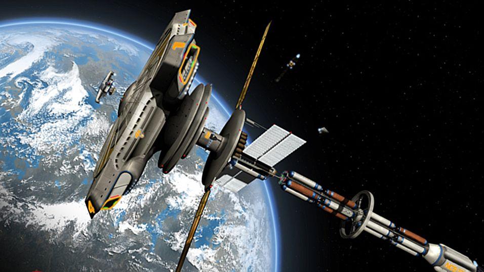 Rogue System blir et romspill for simulatorfrelste