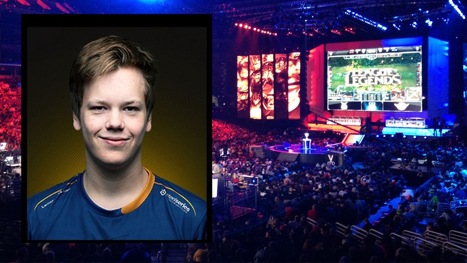 E-SPORT: Norske Erlend
