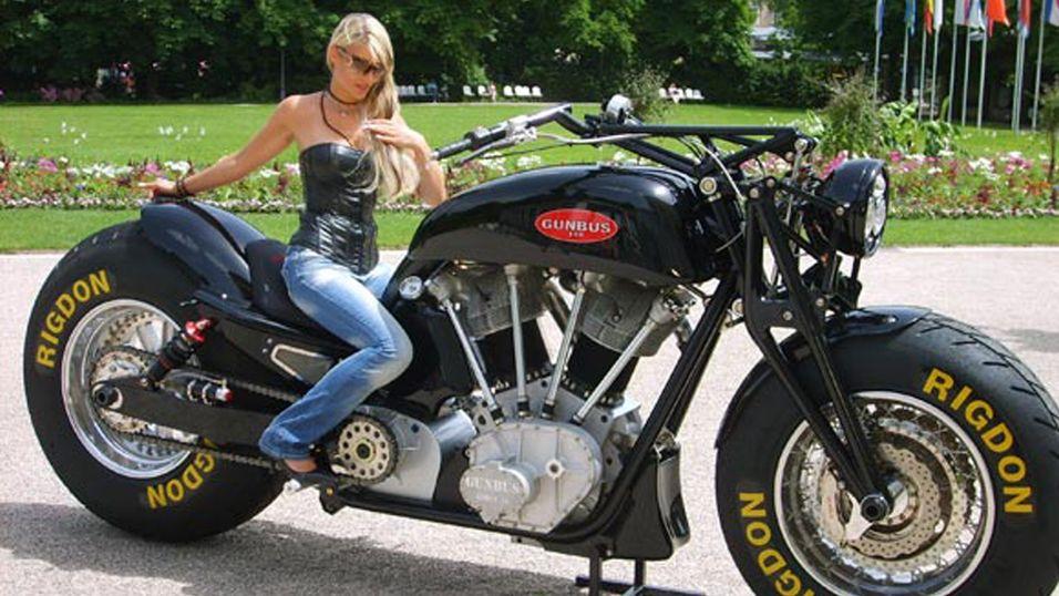 Gunbus er verdens største motorsykkel