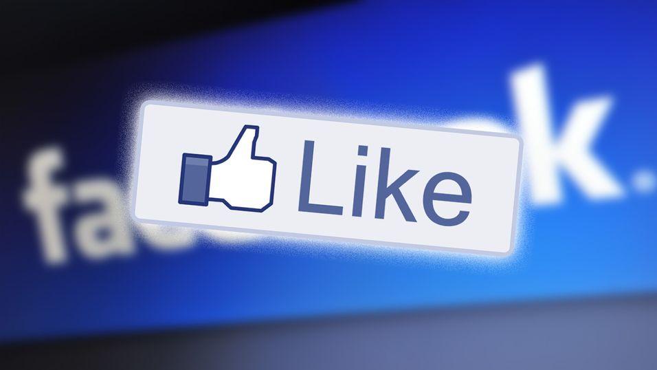 Facebook endrer Like-knappen