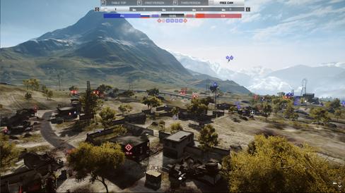 Tilskuermodusen lever opp til forventningene fra Battlefield 2.