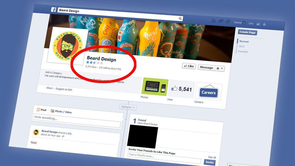 Snart kan du slakte bedrifter på Facebook