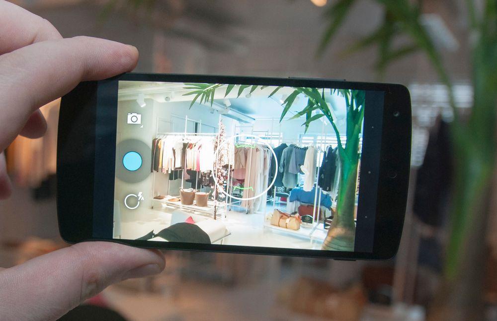 Kameraet i Nexus 5 har fått  optisk bildestabilisator, som skal gjøre det enklere å unngå bevegelsesuskarphet i bildene.