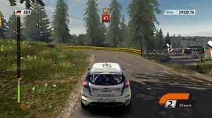 Vi har ingen bilder fra det nye spillet, men her er det forrige rallyspillet til Milestone.