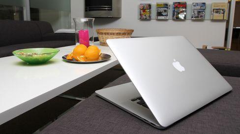 MacBook Pro Retina minner om det hos Air.