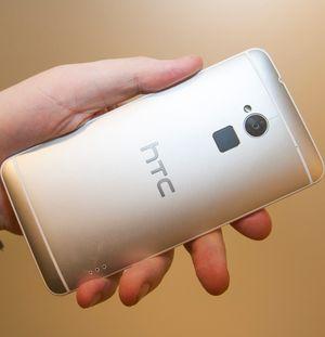Slik ser baksiden på HTC One Max ut.