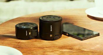 Test: Sony QX10 og QX100