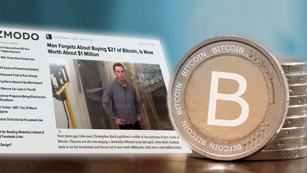 INTERVJU: Norske Kristoffer ble Bitcoin-millionær over natten