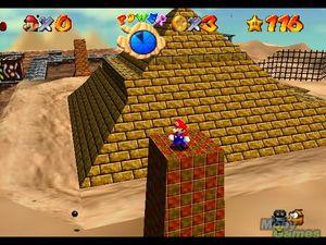 Super Mario 64. (Bilde: Mobygames.com).
