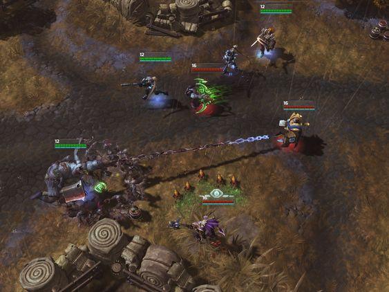 Hele laget er på samme nivå. (Blizzard Entertainment).