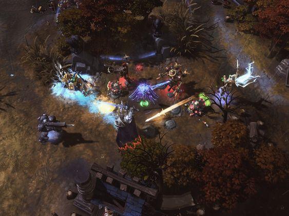 Ikke ta med sverd og skytevåpen til en magikamp. (Bilde: Blizzard Entertainment).