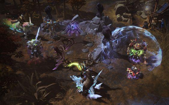 Essensen i Heroes of the Storm: Blizzard-helter og regnbueprompende enhjørninger. .