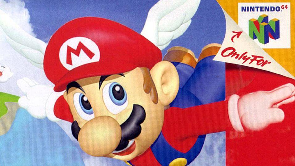 PODKAST: Er Super Mario 64 tidenes beste lanseringspill?
