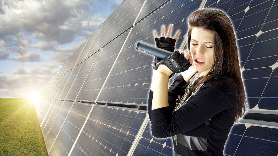 Popmusikk får solcellepaneler til å jobbe hardere