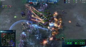 Her avgjøres det hele. Stillbilde hentet fra Blizzards direktesending.