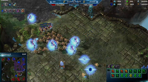 sOs' sterke Protoss-hær ble for mye å takle. Stillbilde hentet fra Blizzards direktesending.