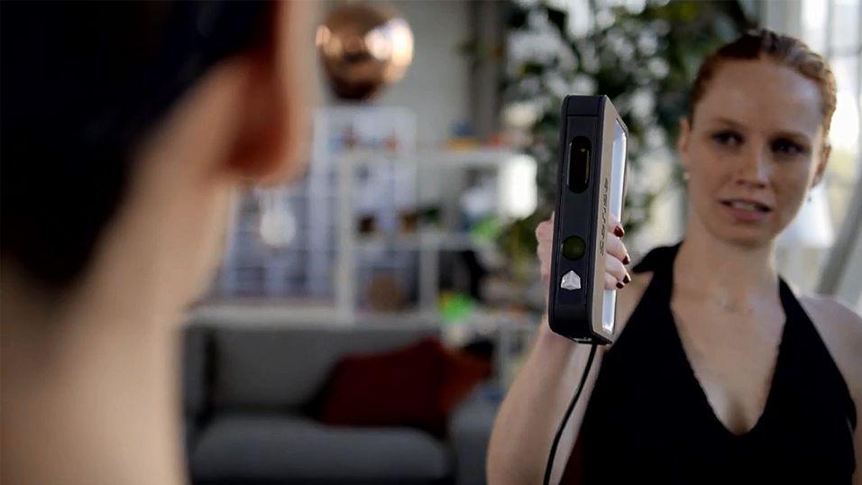 Digitaliser deg selv med håndholdt 3D-skanner