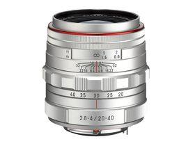 HD PENTAX-DA 20 - 40 mm /f2.8-4 ED Limited DC WR  kommer også i sølv.