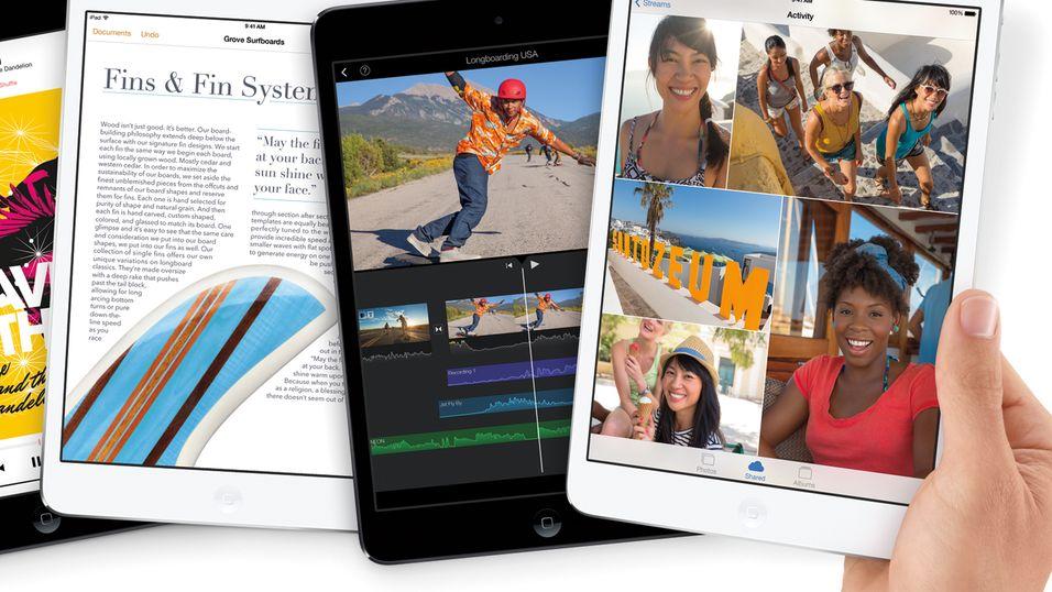 Apple iPad mini med Retina-skjerm.